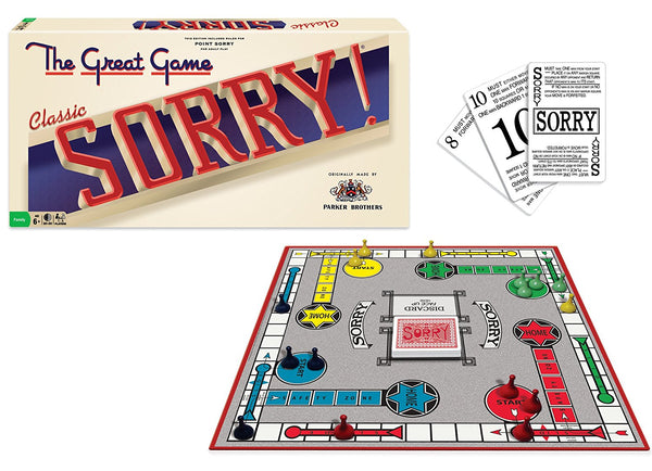 "Sorry! ""Classic Edition"" Board Game"