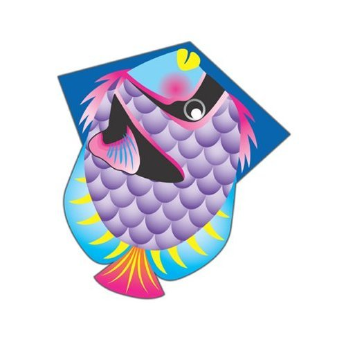 Tropical Fish Diamond Kite with Line Included