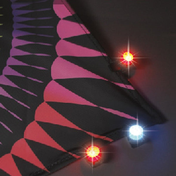 UFO Red/Blue LED Mini Lights - 5 Piece Set