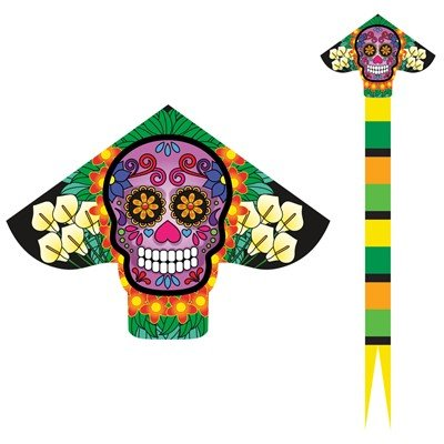 Sugar Skull XLT Delta Kite with Line Included