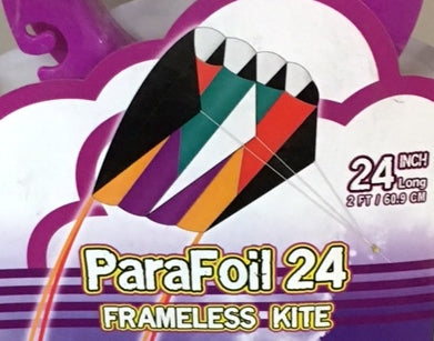 Parafoil 24 Kite with Flying Line & YoYo Winder