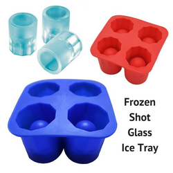 Frozen Shot Glass Ice Tray