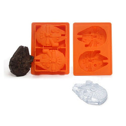 Millenium Falcon Ice and Chocolate Mold - The Empire Shops Back