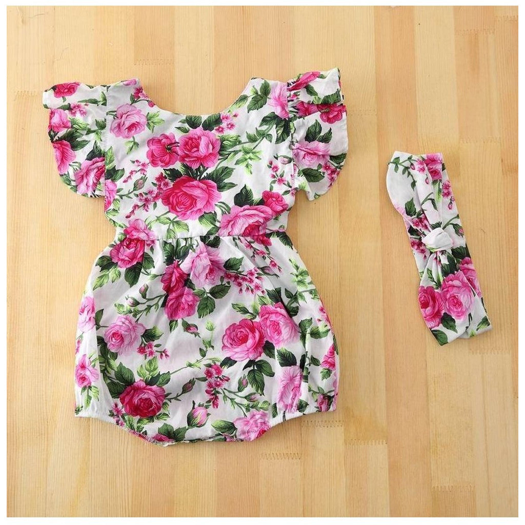Natlie Romper/W Headband/Option E