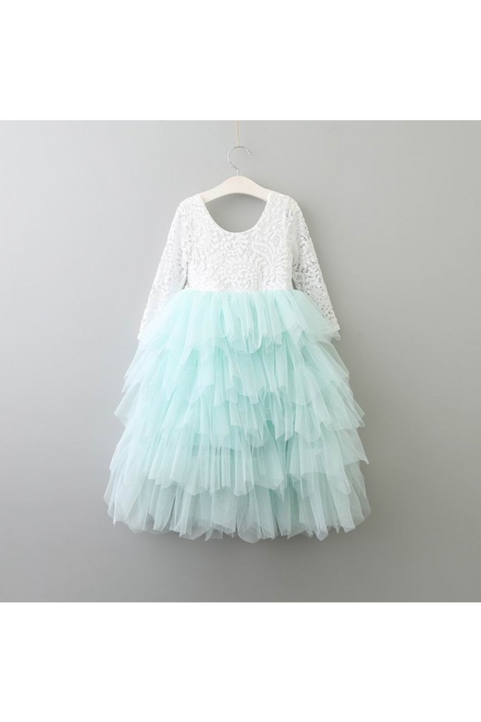 Autumn/Long Sleeve/Mint Tulle
