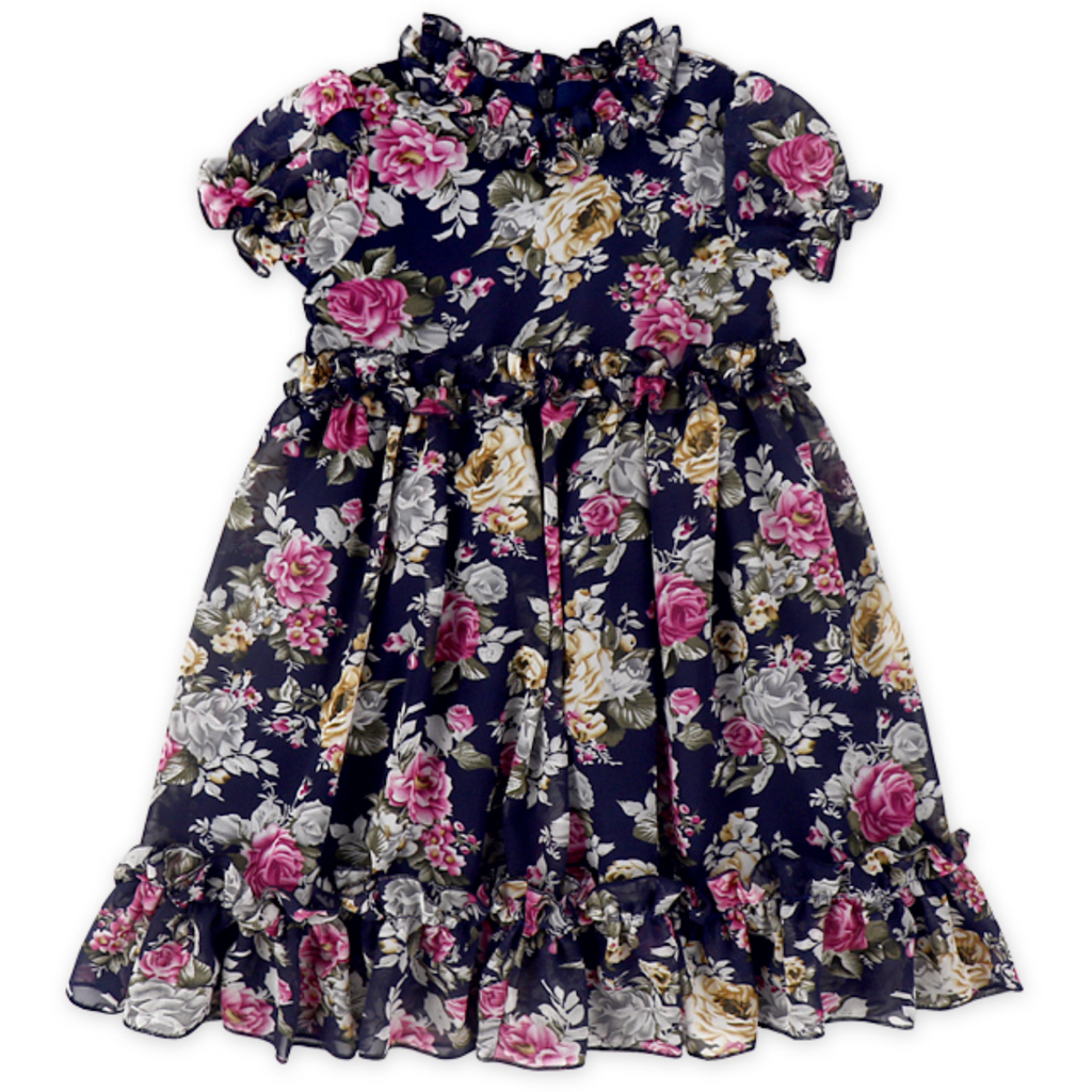 "The ""Emma"" Floral Dress-Style #7"