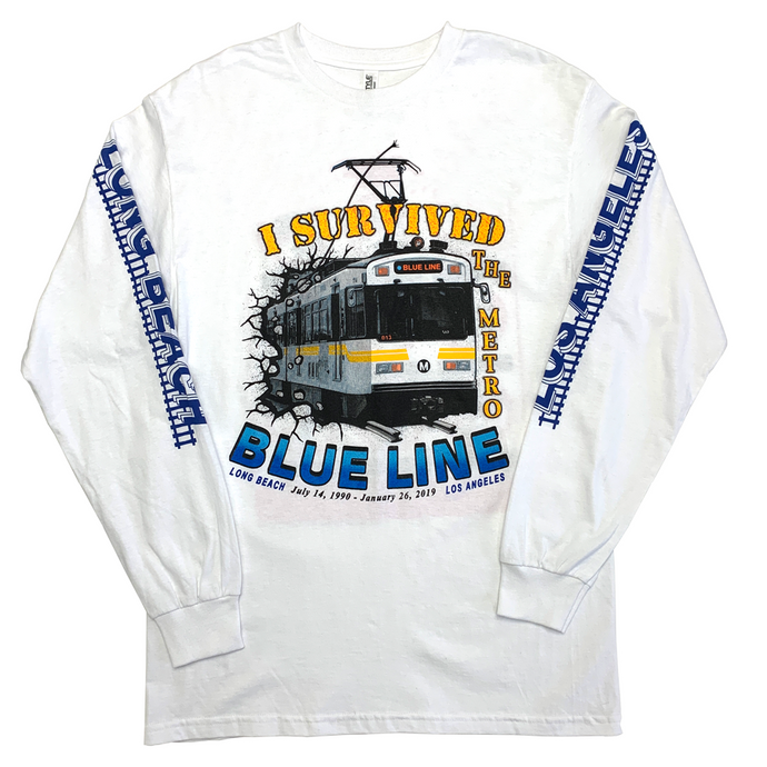 I Survived The Blue Line L/S Shirt
