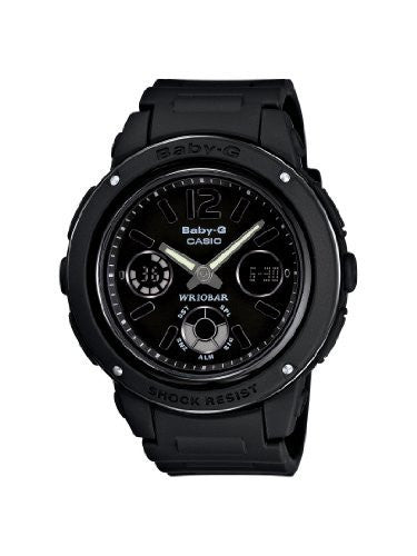 Casio Women's BGA151-1BCR Baby-G Shock Resistant Multi-Function Watch