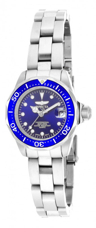 Invicta Women's Pro Diver Analog Quartz 200m Stainless Steel Watch 17034