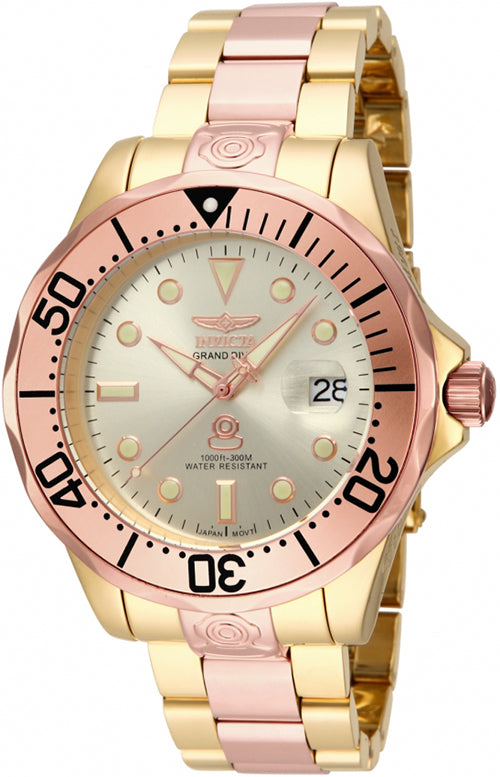 Invicta Men's Pro Diver Automatic 300m Two Tone Stainless Steel Watch 16039