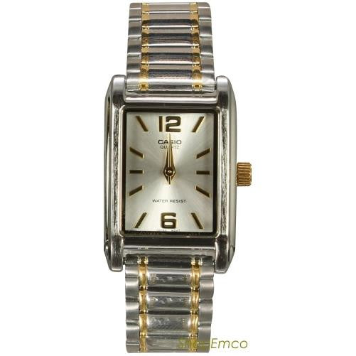 CASIO WOMEN'S STAINLESS STEEL ANALOG WATCH LTP1235SG-7A