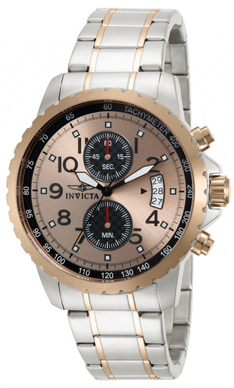 Invicta Men's Specialty Chronograph Quartz Two Toned Stainless Steel Watch 13784