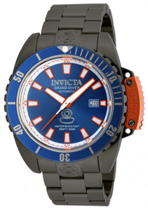 Invicta Men's Pro Diver Automatic 300m Gunmetal IP Stainless Steel Watch 19870