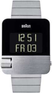 Braun Silver And Black Prestige Watch BN0106SLBTG