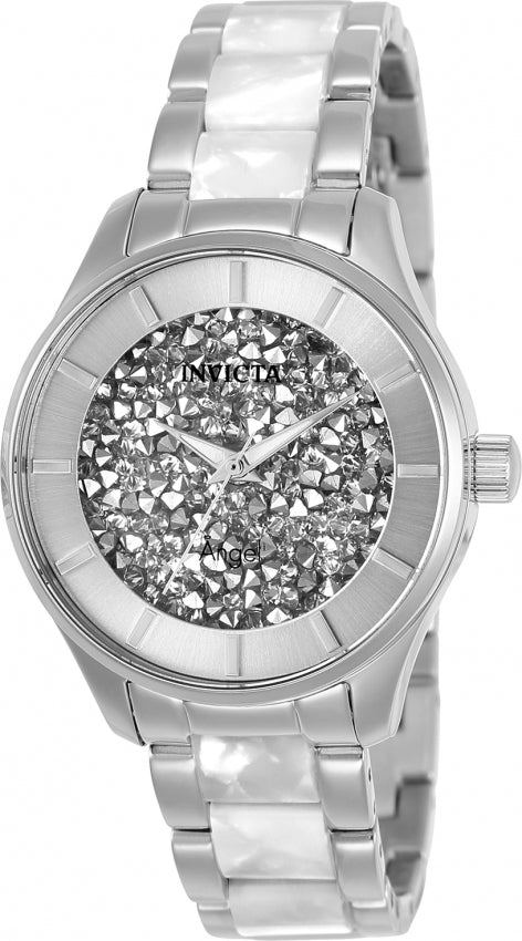 Invicta Women's Angel Quartz Two Tone Stainless Steel 100m Watch 25246