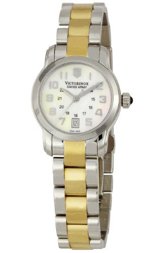 Victorinox Swiss Army Women's 241184 Vivante White Mother-Of-Pearl Dial Watch