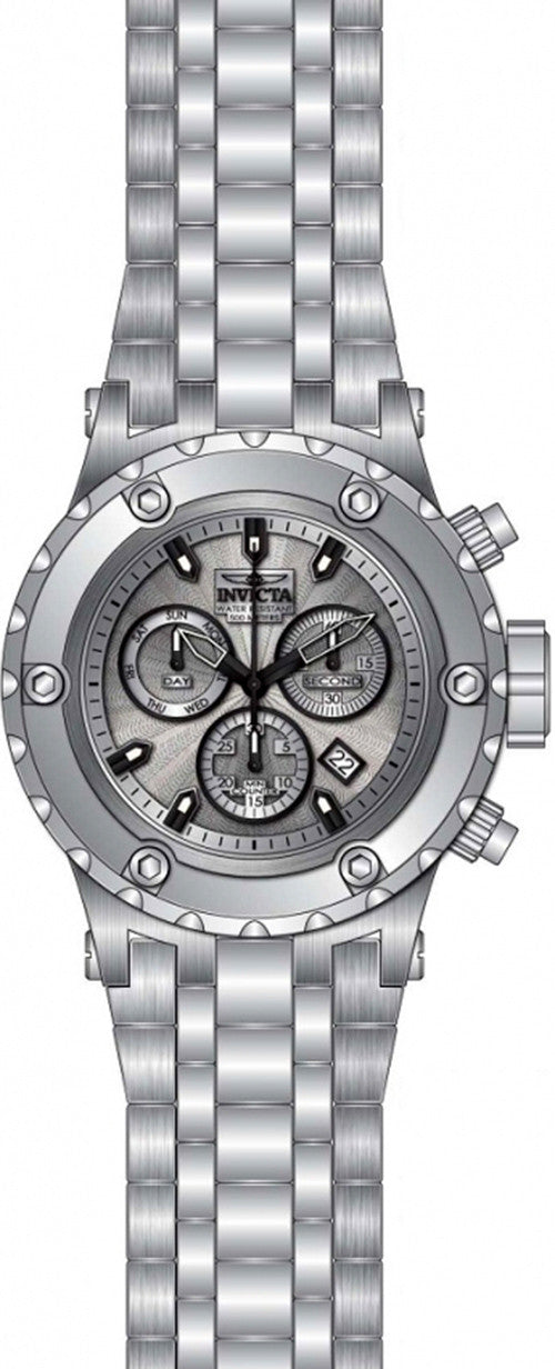 Swiss Chronograph 500m Stainless Steel Watch