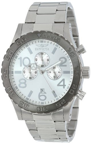 Invicta Men's Specialty Chronograph Analog Quartz Stainless Steel Watch 15159