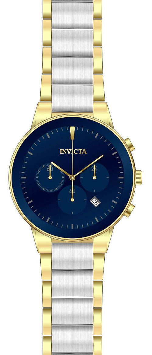 Invicta Men's Specialty Quartz Chrono Two Tone Stainless Steel Watch 29479