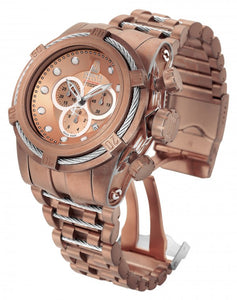 Invicta Men's Jason Taylor Chrono Rose Gold Plated Stainless Steel Watch 17835