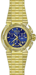 Invicta Men's Reserve Chronograph 300m  Gold Plated Stainless Steel Watch 18338