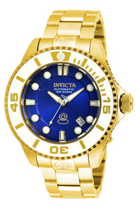Invicta Men's 20177 Pro Diver Automatic 3 Hand Blue Dial Watch