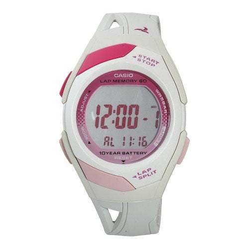 Casio Women's Runner Eco Friendly Digital Resin Strap Watch STR300