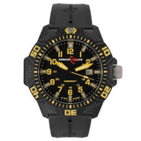 ArmourLite Men's Caliber Series Polycarbon Tritium Yellow on Black Watch AL614