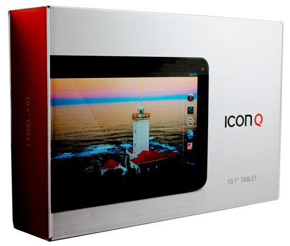 "ICON Q 9"" Dual Core 10"" Tablet 8GB Black"