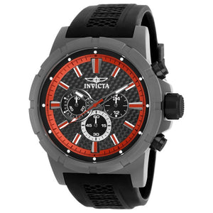 Invicta Men's TI-22 Chronograph Quartz Titanium Case Black Silicone Watch 20452