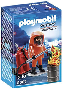 Playmobil City Action Special Forces Firefighter (for Kids 5 - 10) 5367