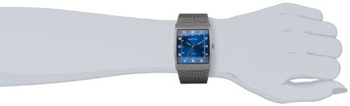 Bering Men's Classic Collection Grey Titanium Mesh Band Watch 11233-078