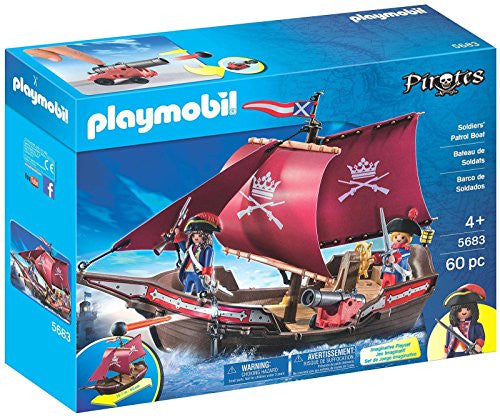 Playmobil Patrol Boat (for Kids 4 and up)