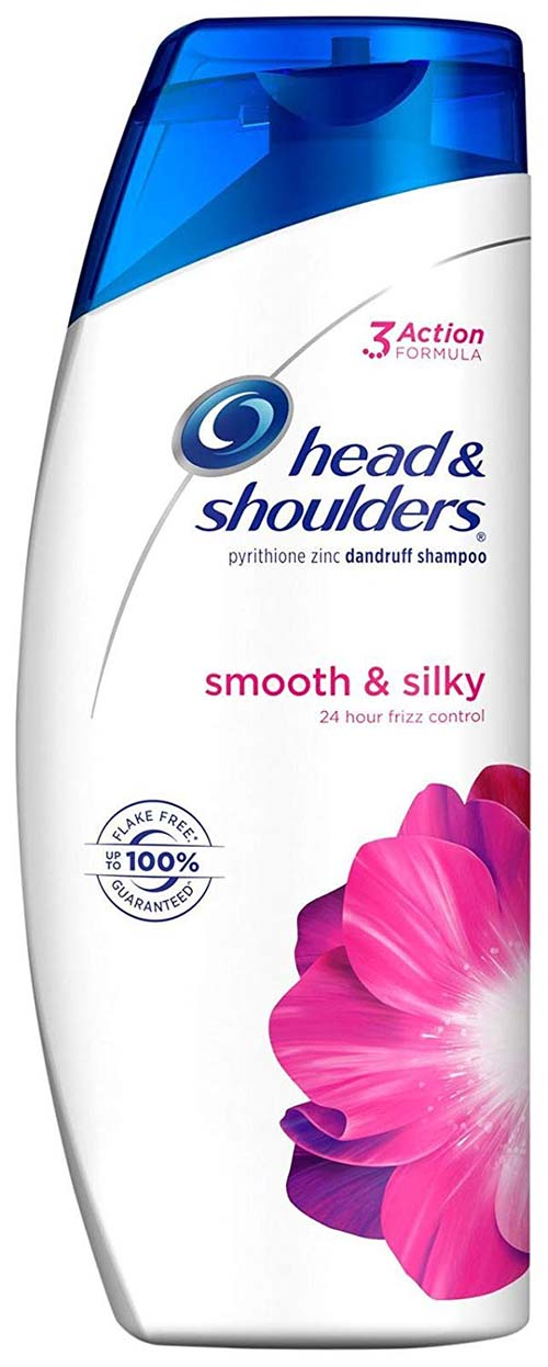 Head & Shoulders Smooth and Silky Anti-Dandruff Shampoo, 23.7oz