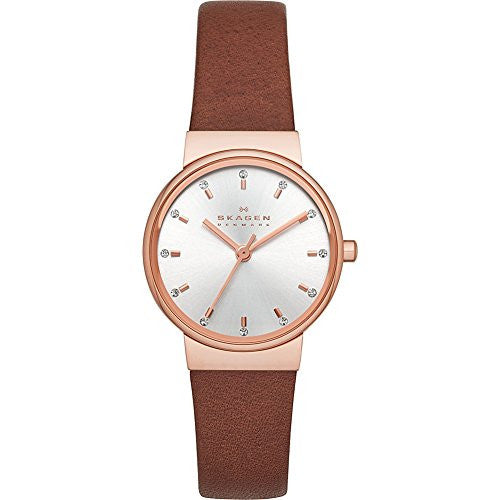 Skagen Women's SKW2260 Ancher Analog Display Analog Quartz Brown Watch