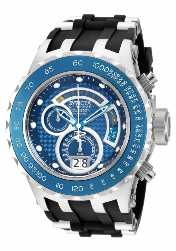 Invicta Men's Subaqua Chrono 500m Stainless Steel Black Polyurethane Watch 18549