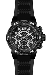 Invicta Men's Speedway Quartz Multifunction Black Dial Watch 24236