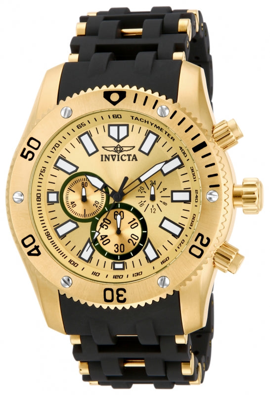 Invicta Men's Sea Spider Quartz Chronograph Stainless Steel Watch 14861