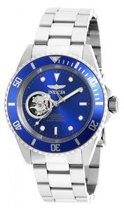Invicta Men's Pro Diver Blue Face 200m Stainless Steel Watch 20434