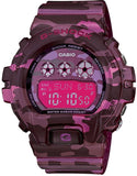 Casio G-Shock Women's Digital 200m Pink Camo Resin Watch GMDS6900CF-4