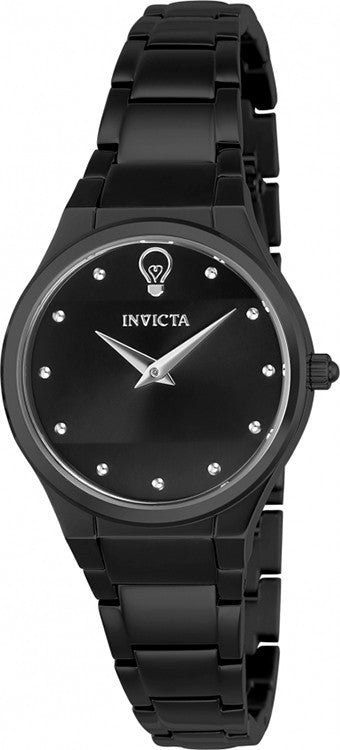 Invicta Women's Gabrielle Union 100m Stainless Steel Black Dial/Bracelet Watch 23280
