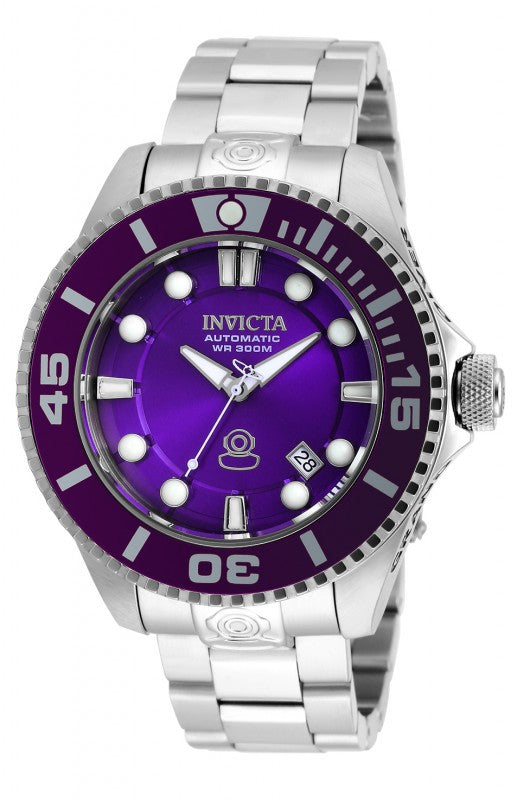 Invicta Men's Pro Diver Automatic 300m Analog Stainless Steel Watch 20175