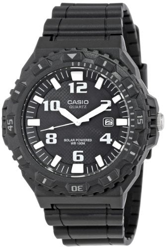 Casio Men's MRW-S300H-1BVCF Solar Powered Analog Sport Watch