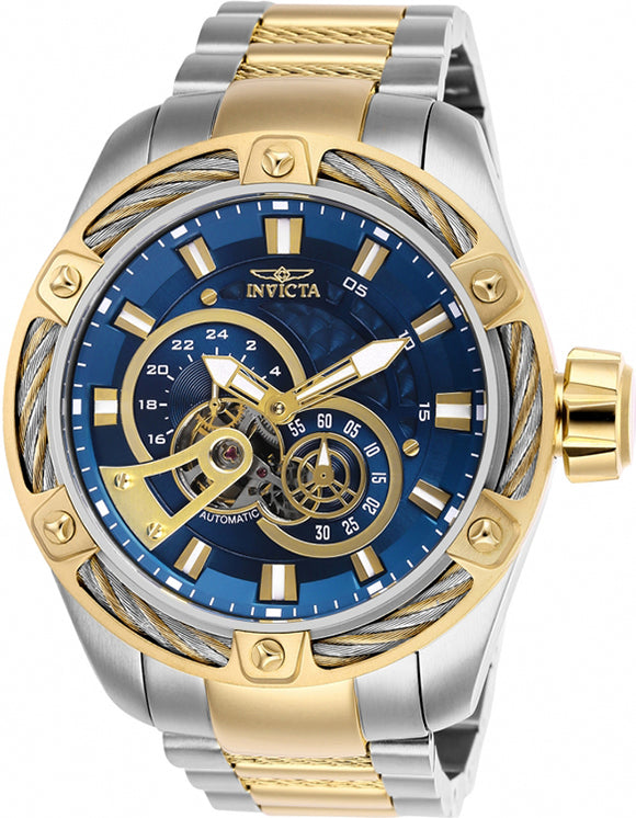 Invicta Men's Bolt Automatic Chrono 100m Two Tone Stainless Steel Watch 26778