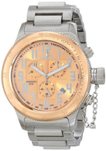 Invicta Men's Russian Diver Chronograph 200m Quartz Stainless Steel Watch 15557
