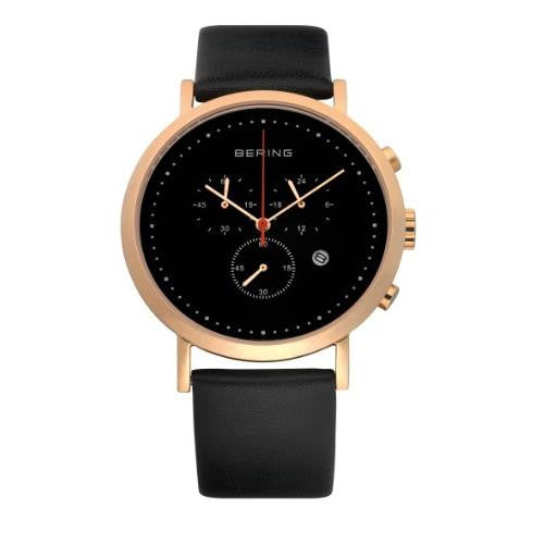 Bering Men's Classic Leather Watch
