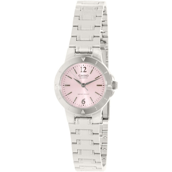 Casio Women's Analog Quartz Stainless Steel Watch LTP1177A-4A1