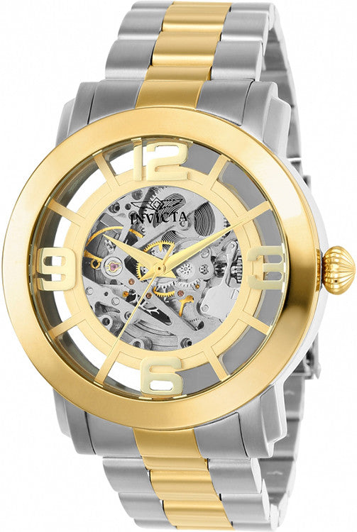 Invicta Men's Vintage Automatic Two Tone (Gold and Silver) S. Steel Watch 22583