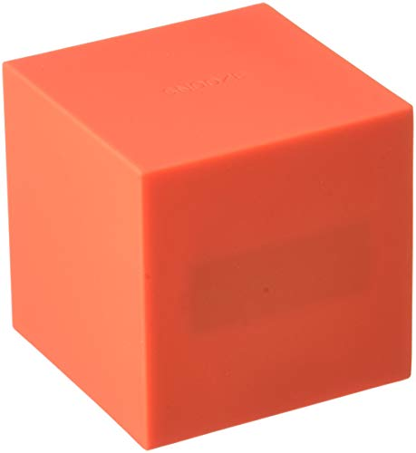 Gingko Gravity Cube Click Clock Red 18RD