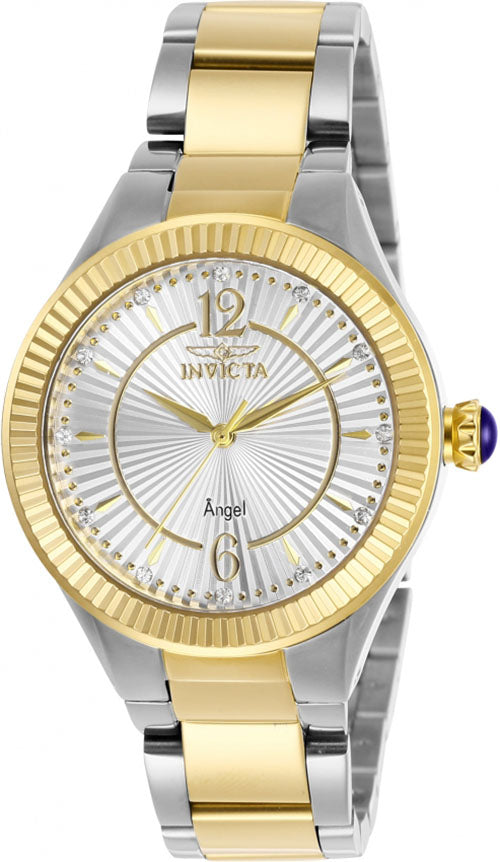 Invicta Women's Angel Quartz 100m Two Tone Stainless Steel Watch 28334